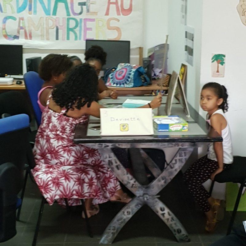 Amélie & enfants activité